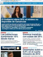 Ambito Financiero Argentina Newspaper