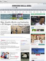 Corriere della Sera Italian Newspaper