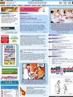 Dinamina Srilanka Sinhala Newspaper