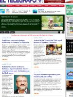 El Telegrafo Uruguayan Newspaper