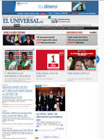 El Universal Mexico Spanish Newspaper