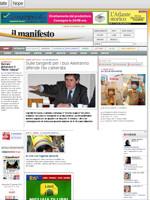 Il Manifesto Italian Newspaper