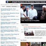 Kompas Indonesia Newspaper