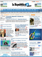 La Repubblica Italian Newspaper