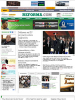 Reforma Mexican Spanish Newspaper