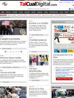 Tal Cual Venezuela Newspaper