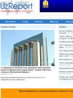 Uzbek Report Uzbekistan Newspaper