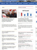 Venezuelan Analysis Venezuela Newspaper