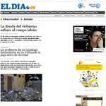 El Día Newspaper Spain