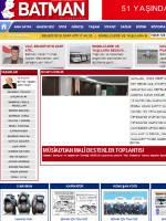 Batmangazetesi Newspaper Turkey