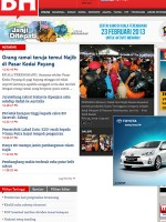 Berita Harian Newspaper Malaysia
