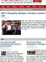 Harakah Daily Newspaper Malaysia