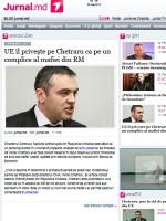 Jurnal de Chisinau Newspaper Moldova