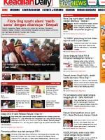 Keadilan Daily Newspaper Malaysia