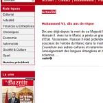 La Gazette du Maroc Newspaper Morocco