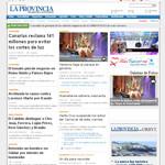 La Provincia Newspaper Spain