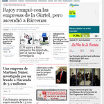 La Voz de Galicia Newspaper Spain