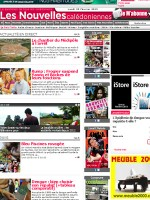 Les Nouvelles Caledoniennes Newspaper New Caledonia