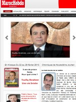 Maroc Hebdo International Newspaper Morocco