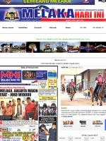 Melaka Hari Ini Newspaper Malaysia