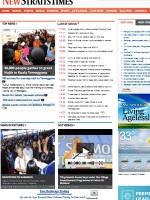 New Straits Times Newspaper Malaysia