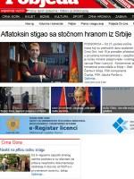 Pobjeda Newspaper Montenegro