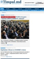 Timpul Newspaper Moldova