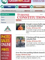 Tyrone Constitution Newspaper Northern Ireland