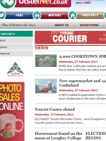 Tyrone Courier Newspaper Northern Ireland