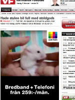 Värmlands Folkblad Sweden Newspaper