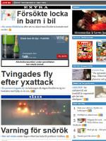 Västerbottenskuriren Sweden Newspaper