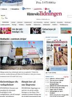 Västerviks Tidningen Sweden Newspaper
