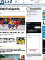 Vestmanlans Läns Tidning Sweden Newspaper