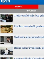 Vijesti Newspaper Montenegro