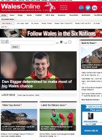 Western Mail Wales Newspaper