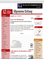 Allgemeine Zeitung Newspaper Namibia