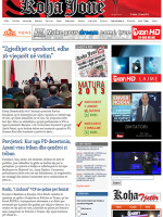 Koha Jone Albanian Newspaper