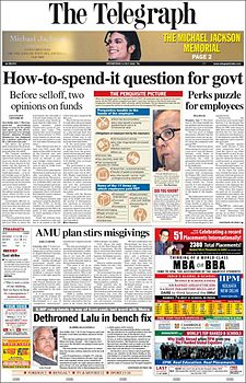 The Telegraph ePaper India English Epapers