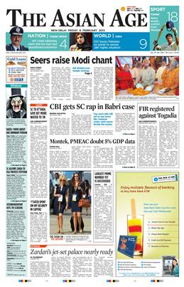 Asian Age ePaper Mumbai Delhi English Epapers