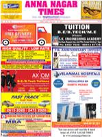 Annanagar Times ePaper Tamil nadu India English Epapers