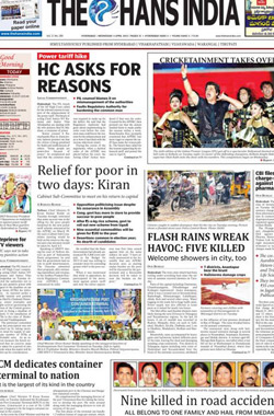 The Hans India English Epapers