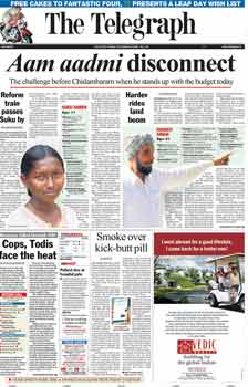 The Telegraph -Calcutta English Epapers