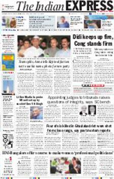 The Indian Express English Epapers