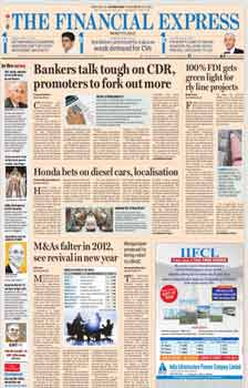 Financial Express English Epapers